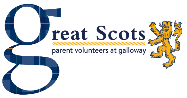 Great Scots- Parent volunteers at Galloway